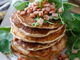 canadian bacon pancakes savory bacon