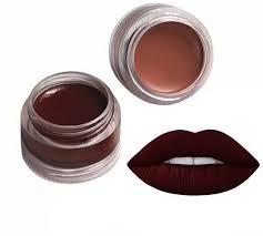 natural organic matte lipstick pots
