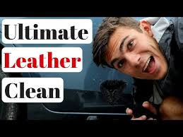 steam clean leather car seats you