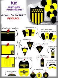 Kit Personalizado Penarol Para Imprimir 179 00 En Mercado Libre