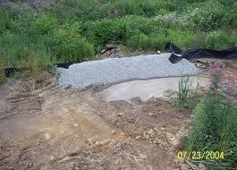 Erosion Control Rock Filter Outlets Used When Silt Fence Has Been Undermined Or Topped Erosion Control Site Plan Filters