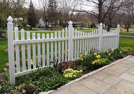 the white picket fence adds charm