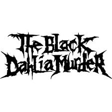 The Black Dahlia Murder Band Decal Sticker Black Dahlia Murder Band Decal Thriftysigns