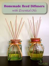 homemade essential oil reed diffusers