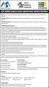 KKTC Merkez Bankası Ulusal Mimari Proje Yarışması - Arkitera