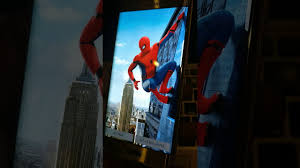 3d wallpapers spiderman homeing