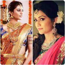 simple indian wedding hairstyles for