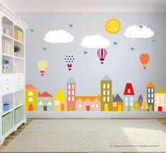 City Wall Decals City Scape Wall Decal Nursery Wall Etsy Baby Wall Decals Nursery Wall Decals Kids Wall Decals