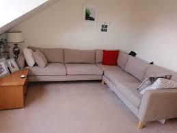ikea karlstad corner settee sofa 150