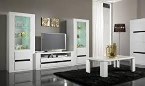 Matelpro-Vitrine 1 porte design laquée blanche et noire Adriana Price! -  mnvkuywo-73