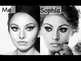 sophia loren makeup transformation