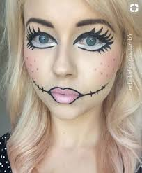 doll makeup costumes you