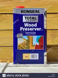 Wood Preserver High Resolution Stock Photography And Images Alamy