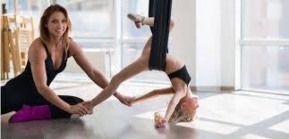aerial yoga teacher