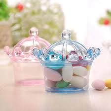 12 pcs candy boxes plastic mini dome