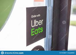Uber Eats Sign Editorial Photo Image Of Restaurant 174166671