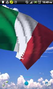 italy flag live wallpaper mobile theme