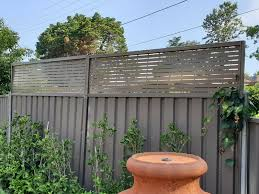 Colorbond Fence Lattice Height Extension Panels 600mm H For Sale Online Ebay