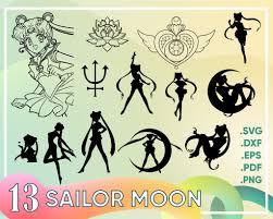 Sailor Moon Svg Sailor Moon Svg Cat Svg Cartoon Svg Vinyl Decal Cutti Clipartic