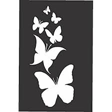 Amazon Com Red Clay Designs Butterfly Family Die Cut Vinyl Window Decal Sticker For Car Truck Laptop 3 5 X8 White Automotive