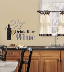 Keep Calm Amp Drink More Wine Quote Wall Decal
