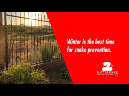 Winter Is The Best Time To Have Rattlesnake Fencing Installed Youtube