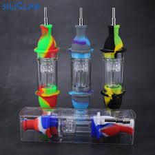 straight silicone nectar collector