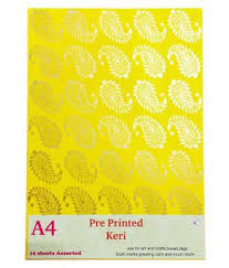 abaj pack of 10 a4 size craft paper