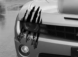 Product Claw Scar Mark Decal Hood Headlight Scratch Car Vehicle Camaro Marks