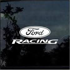 Ford Racing Car Or Truck Window Decal Sticker Window Decal Sticker Custom Sticker Shop