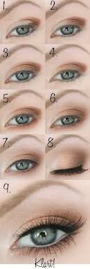 makeup tips for green eyes and gray