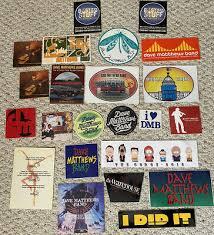 Lot Of 23 Dave Matthews Band Warehouse Regular Stickers Decals Dmb Rare Ebay