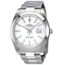 Rolex Oyster Perpetual Datejust White ...