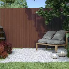 Pvc Screen Border 17 Mm Screen Fence Garden And Terrace Domondo