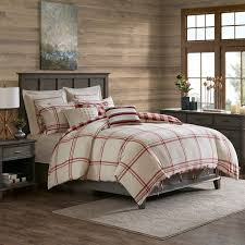 cotton comforter set farmhouse rustic