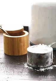 how to make self rising flour add a pinch