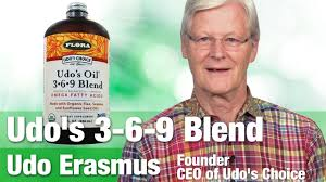 Udo's Oil 3-6-9 Blend with Founder & CEO Udo Erasmus - YouTube