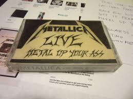 metallica live metal up your ass no