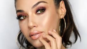 bronze smoky eye makeup tutorial eman