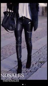 jeans black biker jeans zara