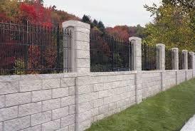 Allan Block Fence System Nitterhouse Masonry
