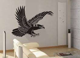Vinyl Wall Decal Hero Soaring Big Eagle Bird Birds Fly Flying Home House Art Wall Decals Wall Sticke On Luulla