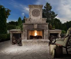 cost of an outdoor fireplace