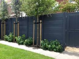 Image Result For Best Colour To Paint Garden Fence Backyard Fences Fence Design Privacy Fence Designs