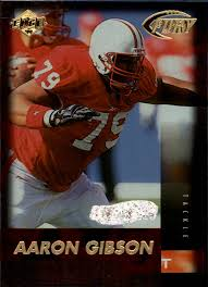 Buy Aaron Gibson Cards Online | Aaron Gibson Football Price Guide - Beckett