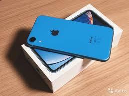 iPhone XR 64GB Синий A1984 купить в Санкт-Петербурге   Бытовая ...