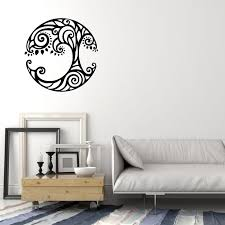 Vinyl Wall Decal Tree Of Life Ornament Nature Celtic Symbol Stickers Wallstickers4you