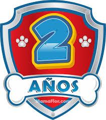 Numeros De Cumpleanos De La Patrulla Canina Stickers De Paw
