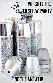 which is the best silver spray paint