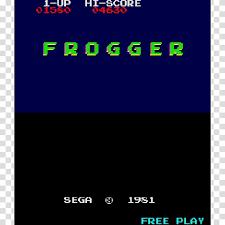frogger pac man arcade game video game